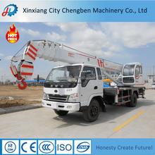 Design for Clients 4-16 ton Truck Crane Durable Cable Cranes for Sale