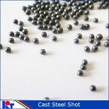 High clearness sand blasting steel shot s660 metal abrasive materials