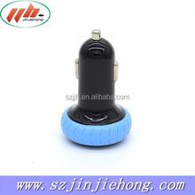 OEM Manufacturer 5V3.1A Mini Dual USB Car Charger Adapter