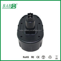 18V/2.0Ah Replacement Power Tool Battery with Ni-CD 2000mah battery for DeWalt 18V power tool