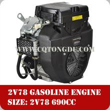Manufacturers 22HP OHV V-twin cylinder 2V78F petrol engine
