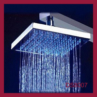 DS8007 rainfall overhead LED color change shower head