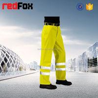hi vis reflective nylon windbreaker pants