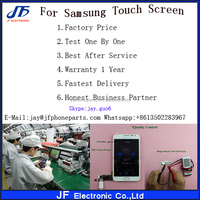 High quality digitizer touch screen for Galaxy tab gt-p1000 touch screen replacement