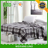 soft fleece flannel blanket pattern /cow print flannel blanket