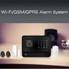 FDL-G90B wifi alarm system ,wifi Auto-dial alarm system,WIFI + GSM + GPRS word menu GSM wireless smart home alarm system