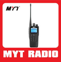 New design encrypted digital uhf portable radios DMR radio with IP65 waterproof & Dust Protector can texting MYT-DM3000