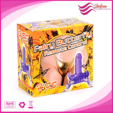 Wireless Control Butterfly Strap ons Vibrating Sex Dildo