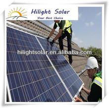 high power 200 watt polycrystalline solar panel TUV,IEC,CEC,CE,ISO