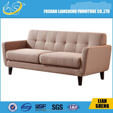 40 High density foam fabric sofa with solid wood legs-#S018-M3-14
