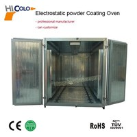 New Arrivals Gas/Diesel Aluminum Pipes Oven Electrostatic Curing Powder Oven with CE