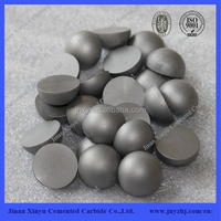 Reliable cemented carbide half ball buttons with 100% raw material