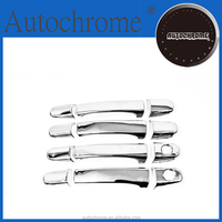 Chrome car trim accent styling, chrome door handle cover with keyless access - for Toyota Sienta / Porte / Voxy / Noah