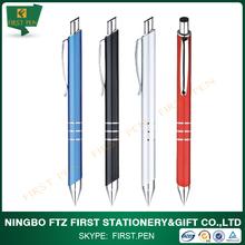 all kinds High quality metal ball pens promotional logo custom pens