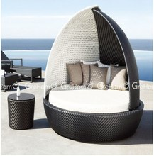 cane furniture egg shape day bed india