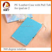 Alibaba China Supplier Leather Smart Case For iPad Air 2 Case