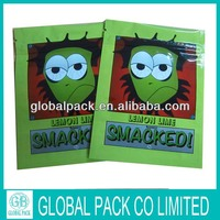 Factory Manufacture Smacked 5g zipper top herbal incense bag/Lemon lime spice potpourri bag(4 different design)