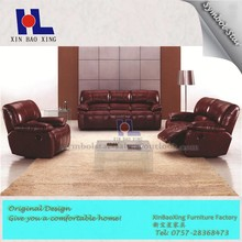 #2018 Lie down sofa lazy boy leather recliner sofa sets