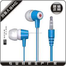 plastic earphone with various kinds for selection