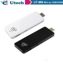 Portable mini pc Quad Core Intel Atom Z3735F Bay Trail Bluetooth Android Mini PC