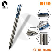 Shibell cheap pens promotional talking pen leather engraving pen
