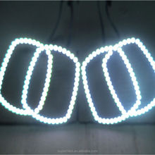 China light angel rings set 5050 smd led eyes rings light e60 projector e46 angel eyes