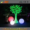 event decoration colored plastic ball, decorative led floating ball