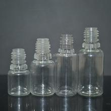10ml 15ml 30ml plastic dropper bottle with childproof cap. new pet dropper bottles, amber PET bottle