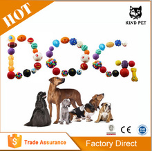 On Sale Pet Dog Puppy Toys High Quality Squeaky Ball Rubber Dog Toys