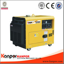 popular generator! china KANPOR small silent diesel generator 6kw price(CCC,CE,BV,ISO9001)