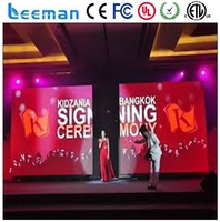 p2.5 high resolution led display screen wifi scrolling outdoor double sided led sign wall mounted advertising display