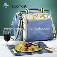 High quality food cooler bag/polyester frozen cooler bag/can cooler bag