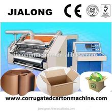 alibaba recommend single facer corrugator machine /Corrugated cardboard paper making machine