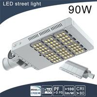 high efficiency led lamps street light pole line