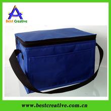 Portable thermal food warmer bag 6 can cooler bag