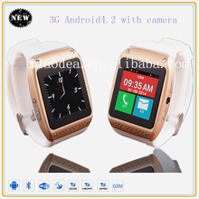 Dual core 3G smart watch mobile phone android 4.2 OS