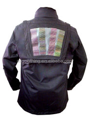 Solar Heating Jacket with Solar Panel