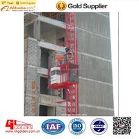 Foshan Construction Passenger Hoist SC200/200 /Guangdong material hoist for consruction/building passenger hoist 2t double cages