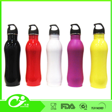mega with different capacity and color of stainless steel sports water bottle