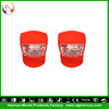Wholesale 2 LEDs 3 modes silicone material battery powered bicycle wheel spoke covers with CE&RoHs