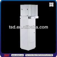 TSD-W1146 China factory stone sample display box,diamond jewelry display,custom wood sample display case