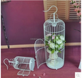 Gaiola de pássaro decorativas para o casamento