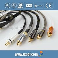 Coaxial spdif toslink digital audio optical fiber cable manufacturer