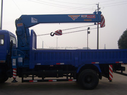 mini truck crane 6tons for sale telescopic boom crane manufacturer