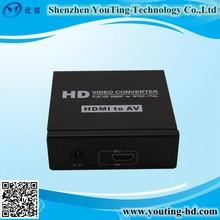 hdmi to rca converter box CVBS/3RCA to HDMI Converter 1080P