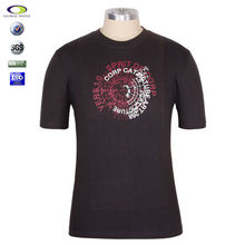 2015 new design tee shirt mens with printing