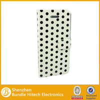 for iphone 5c polka dot leather cases. cell phone covers for iphone 5c