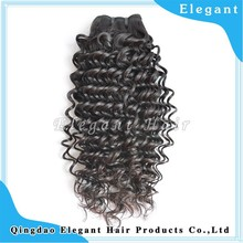 Factory price no tangle human hair natural black Virgin Malaysian deep curly hair