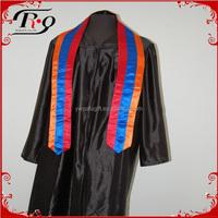 Graduation Fully Lined Satin Fabric Armenia Flag Sash