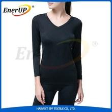 nylon spandex copper compression women t-shirts